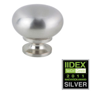 Contemporary Antibacterial Brass Knob - 932