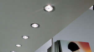 LED 3W Recessed with Swivel