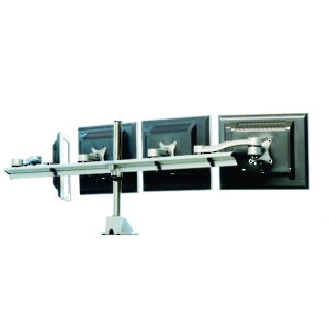 Desk Mountable Multiple LCD Monitor Arms