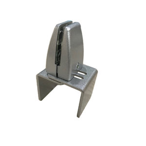 Partition Screen Bracket - 4 in (101.6 mm)