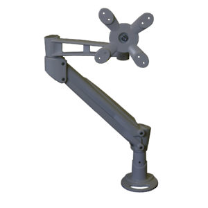 Single Monitor Gas Spring Arm LCD Flat Panel Desk Mount -- Height Adjustable