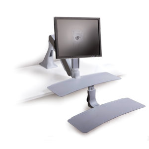 Altissimo Sit/Stand Workstations for 1 monitor