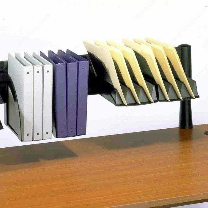 montant de syst me de rangement au dessus du bureau richelieu ergo. Black Bedroom Furniture Sets. Home Design Ideas