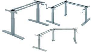 Height Adjustable Bases - Manny Series